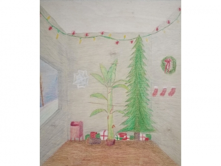 Colored pencil on paper | Saguaro High School