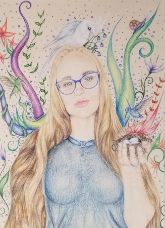 Colored pencil on paper | Chaparral High School